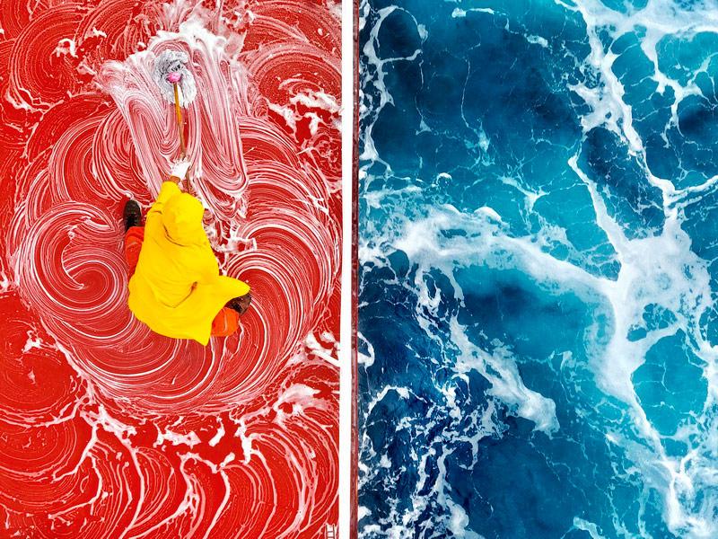 Жизнь в цвете, © Зай Яр Линь, Победитель категории «Мобильная фотография», Фотоконкурс Head On Photo Awards
