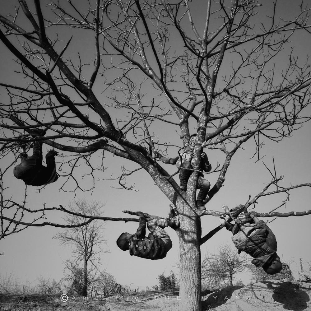 Детство, © Шен Янг, Конкурс мобильной фотографии Huawei