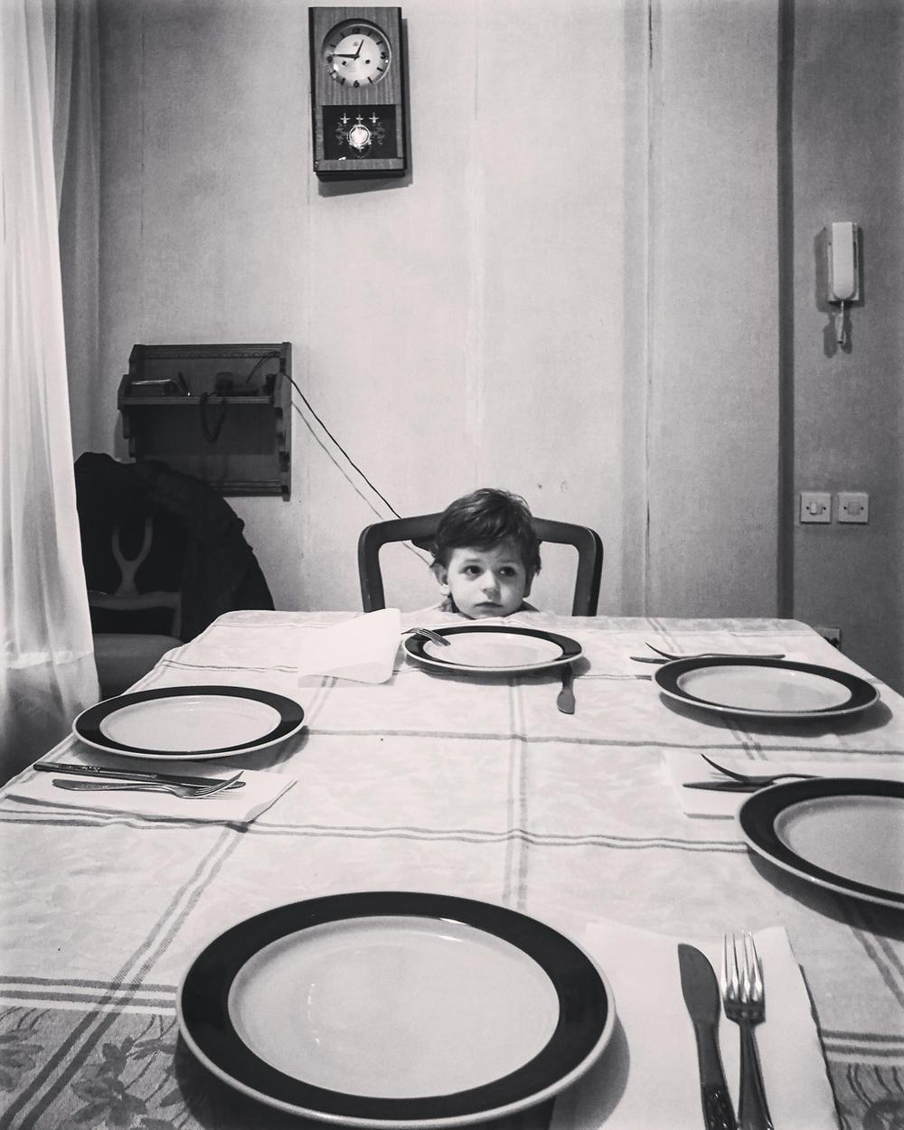 Долгожданный семейный обед, © Марко Рисович, Конкурс мобильной фотографии Huawei