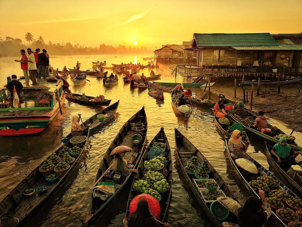 Банджармасин, © Марио Карденас, Конкурс мобильной фотографии Huawei