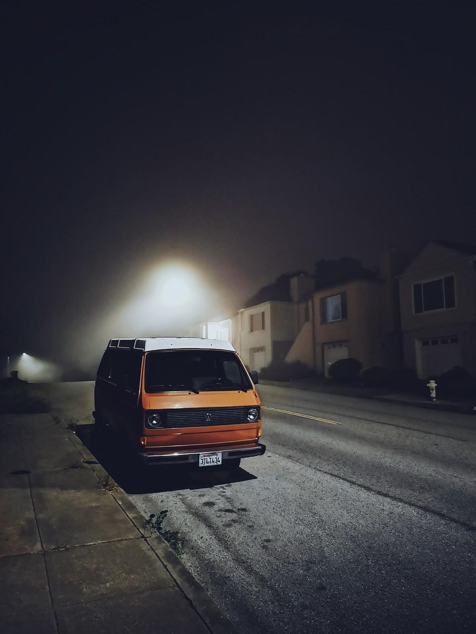 Туманная ночь, © Коку Лю, Конкурс мобильной фотографии Huawei