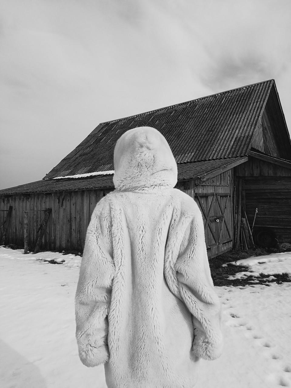 Человек – медведь, © Евгений Путилов, Конкурс мобильной фотографии Huawei