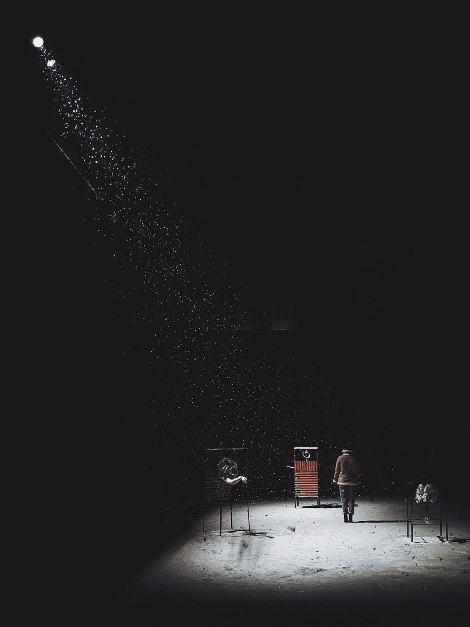 Оказавшись в луче света, © Wes. MW, Гран-при, Конкурс мобильной фотографии Huawei Next-Image