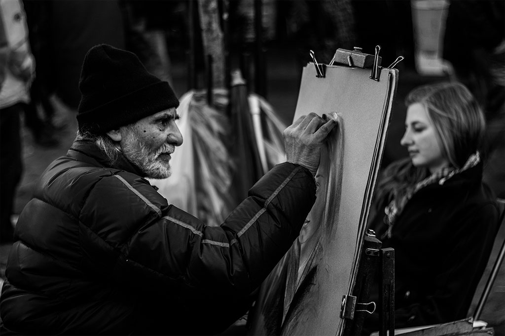 Портрет портрета, © Хавьер Лафуэнте Азагра, Фотоконкурс Ikei