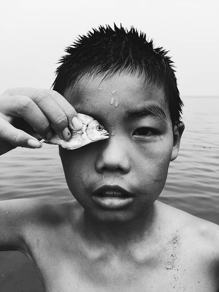 С глазу на глаз, © Хуапенг Чжао, Китай, 2 место, Фотограф года, Конкурс мобильной фотографии iPhone