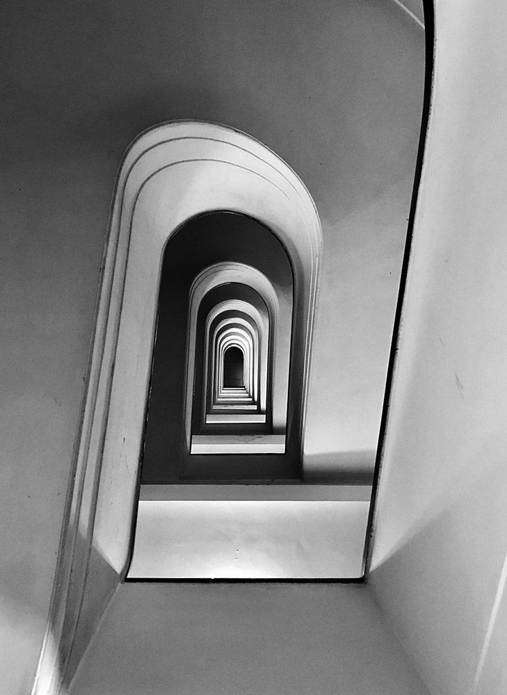 Буйство, © Массимо Грациани, Италия, Победитель категории «Архитектура», Конкурс мобильной фотографии iPhone