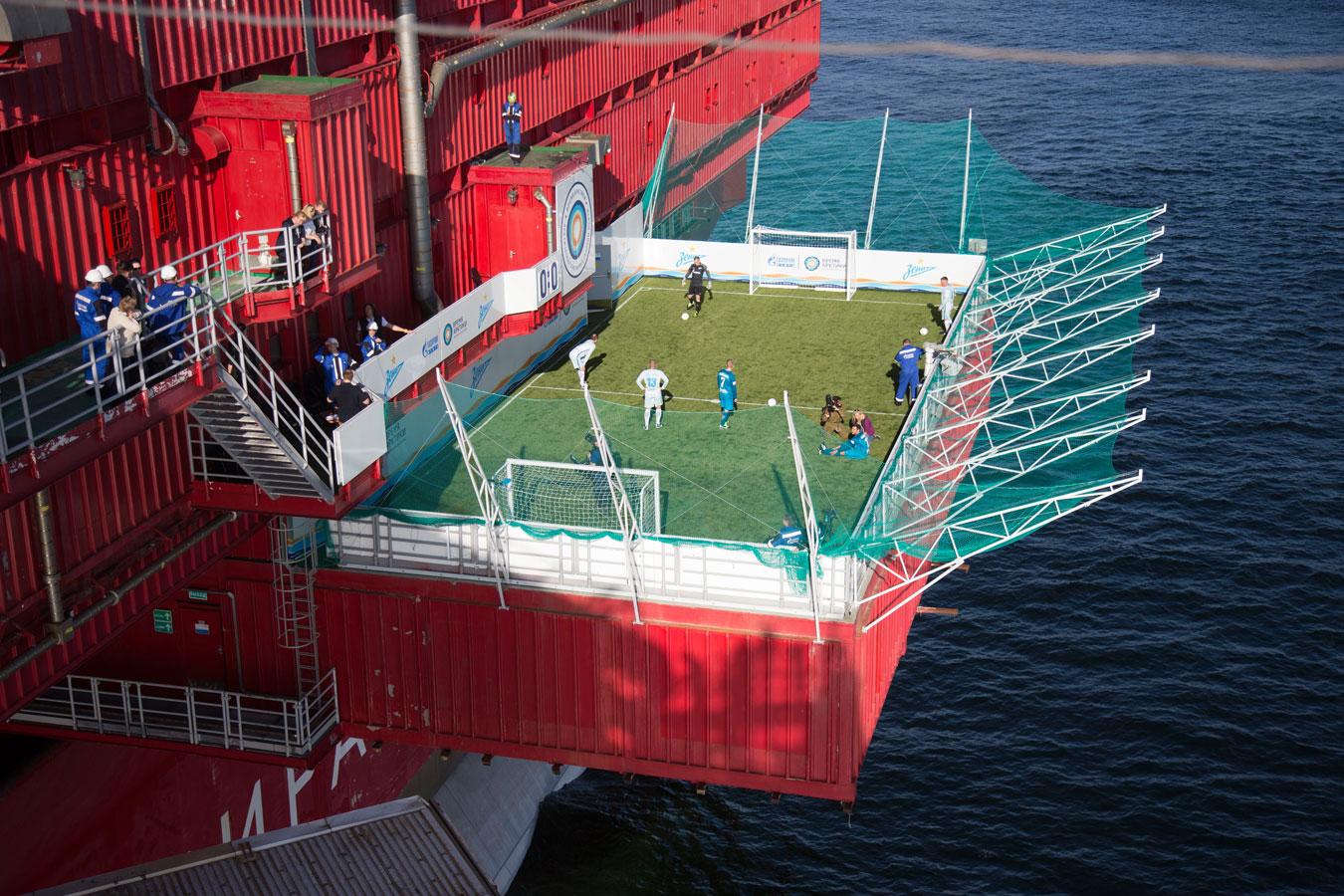 Футбол на платформе «Приразломная», Фотоконкурс «Энергетика современной России»