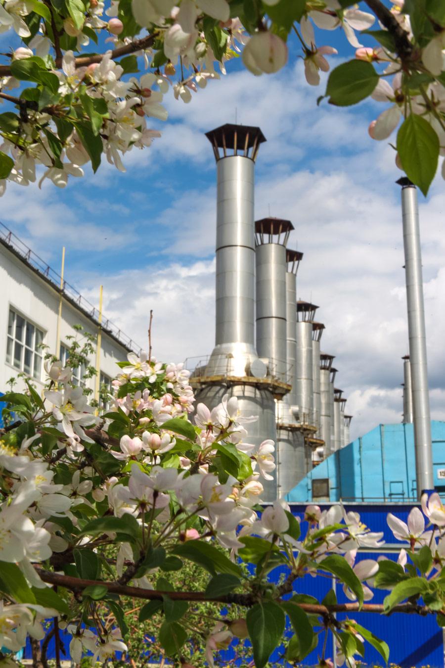 Весна на компрессорной станции, Фотоконкурс «Энергетика современной России»