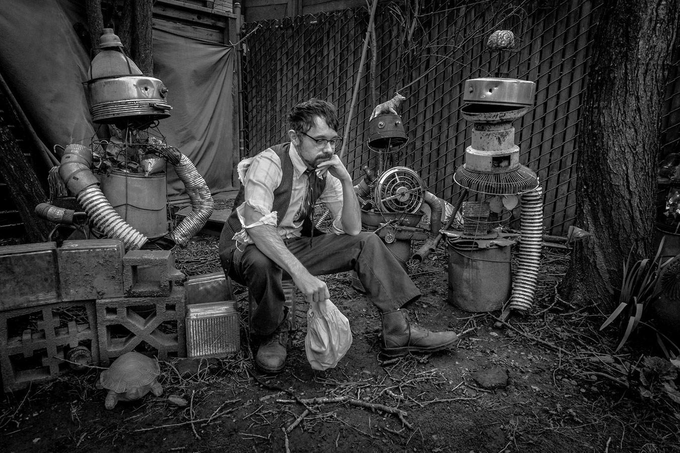 Американский певец Феликс Хэтфилд, © Ларри Луи, Канада, Конкурс портретной фотографии Kuala Lumpur