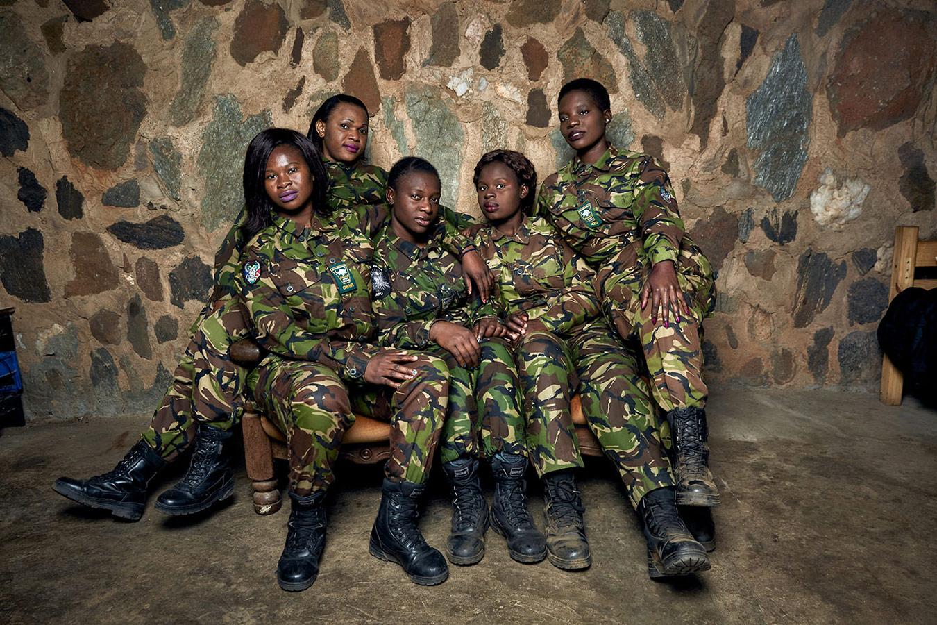 Команда «Чёрная Мамба». Заповедник Балуле, ЮАР, 2017, © Джулия Гюнтер, Нидерланды, Конкурс портретной фотографии Kuala Lumpur
