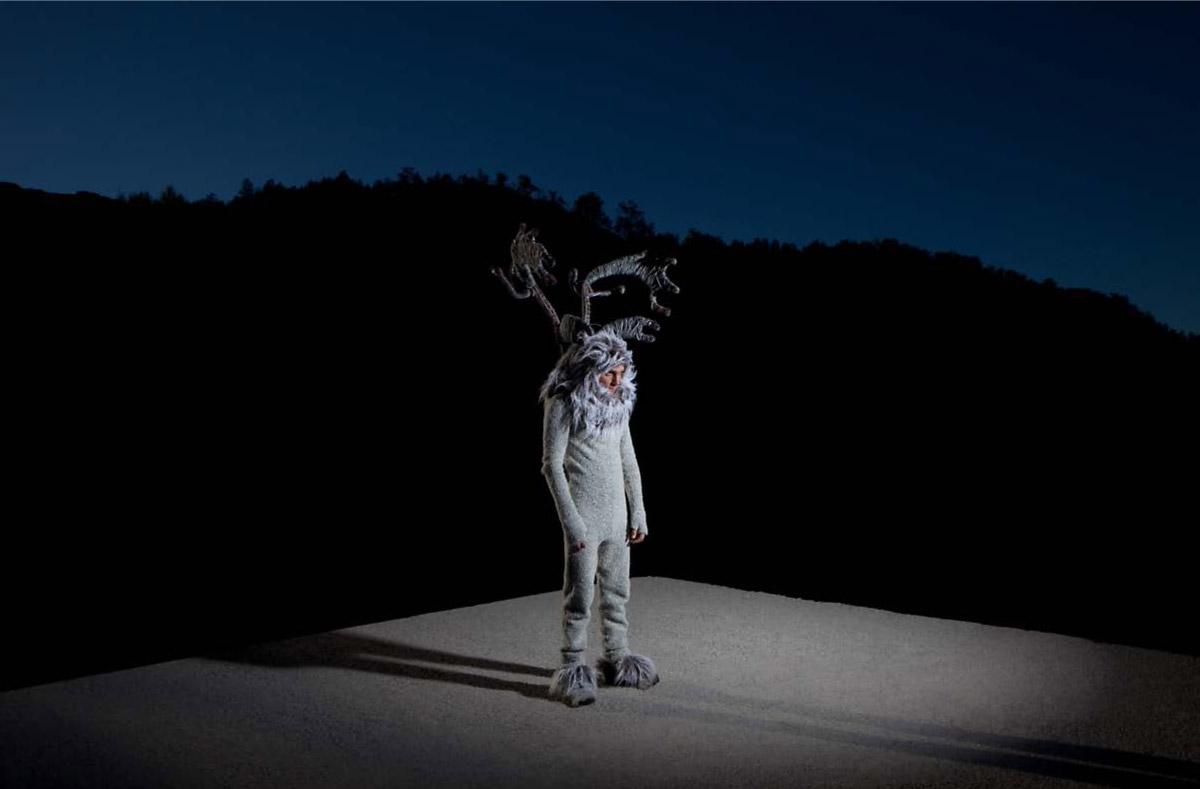 Человек-олень, © Люсия Эрреро, Испания, Гран-при конкурса, Конкурс портретной фотографии Kuala Lumpur