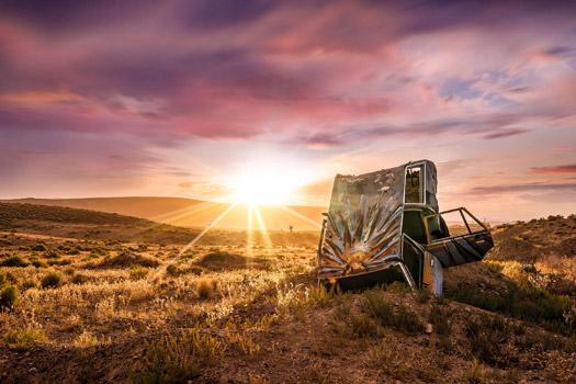 Мазки и солнечные лучи, © Джессика Сантос, 2 место в категории «Цифровое искусство и фотография», Фотоконкурс «Художественные пейзажи» — Landscapes Art