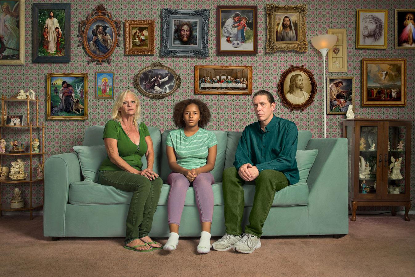 Семья, © Кремер Джонсон, США, 1 место, Фотоконкурс «Портрет» — LensCulture Portrait Awards