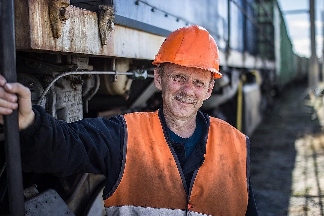 Машинист Читинской ТЭЦ-1, © Владимир Гордеев, г. Чита, Победитель, Всероссийский фотоконкурс «Лица труда»