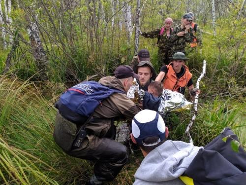 Добровольческий поисковый отряд «ЛизаАлерт», Найден, жив