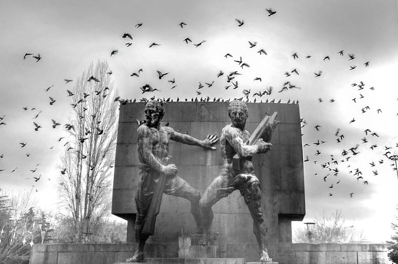 Признак вашего будущего, © Хасан Дехгандуст, Иран, Фильтр: поляризационный (PL), Фотоконкурс Marumi «Городской пейзаж со светофильтром»