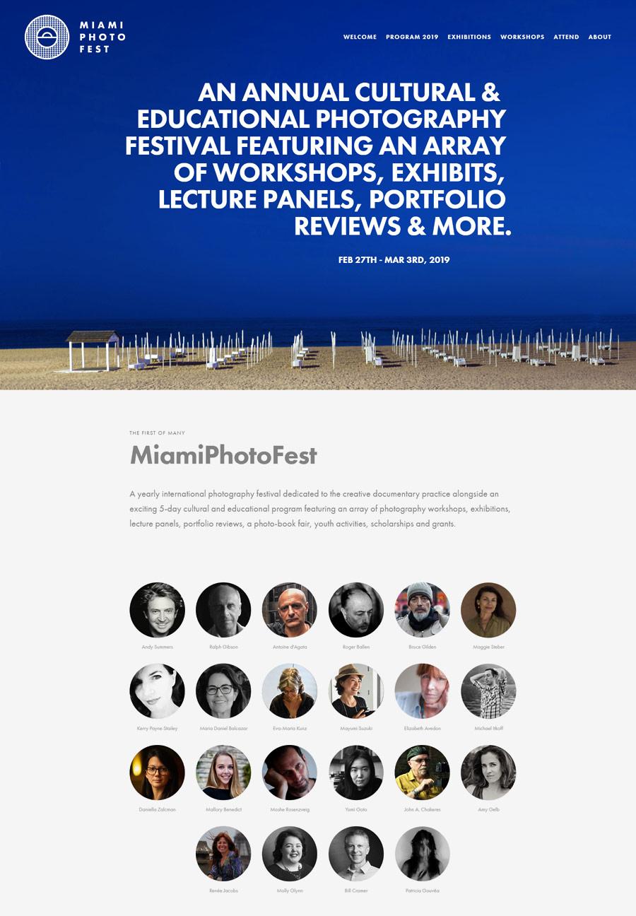 Фотофестиваль MiamiPhotoFest