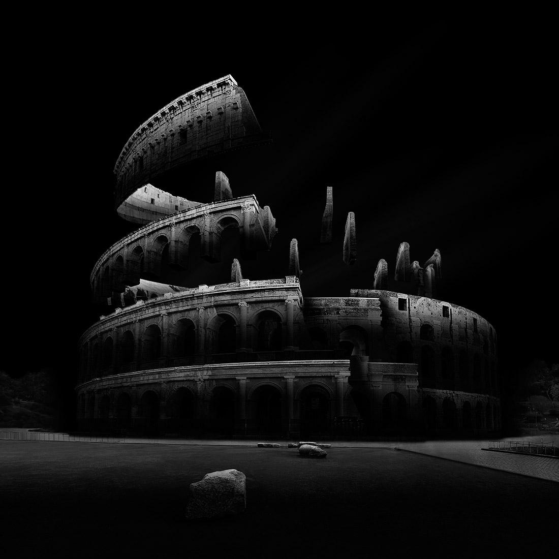 GRVTY2, © Даниэль Гарай Аранго, 1-е место в категории «Архитектура в чёрно-белом», серия, Фотограф чёрно-белой серии года – 2018, Конкурс чёрно-белой фотографии MonoVisions