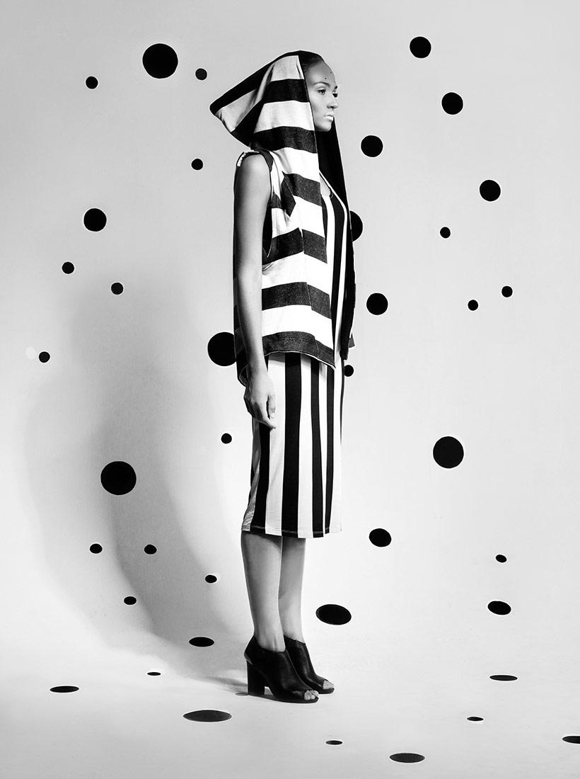 Контраст, © Марзена Коларц, 1-е место в категории «Портрет», серия, Конкурс чёрно-белой фотографии MonoVisions