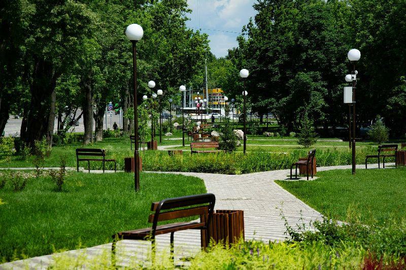Парк на Симферопольском бульваре