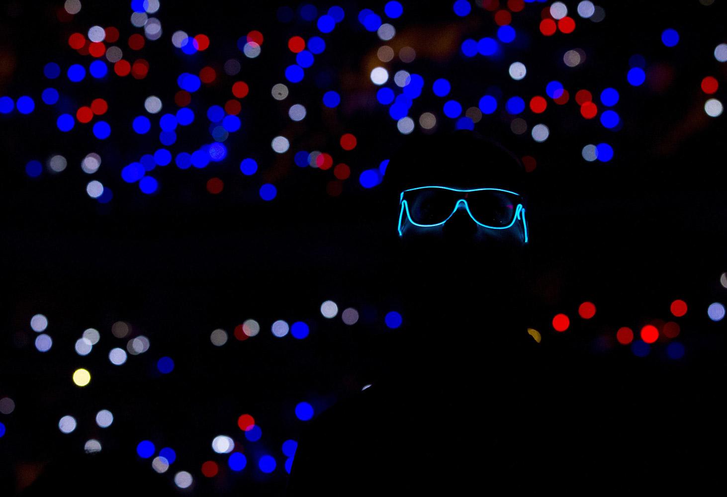«Без названия», © Митчелл Лефф / Mitchell Leff, Филадельфия, США, Финалист категории «Профессионал : Толпа», Фотоконкурс «Момент музыки»