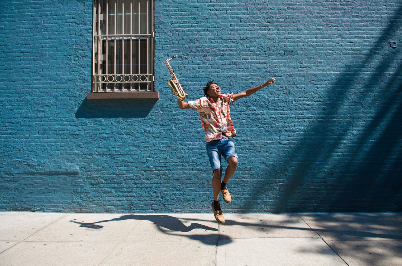 «Чистейшая радость», © Алек Швейцер / Alec Schweitzer, Нью-Йорк, США, Финалист категории «Любитель : Портреты артистов», Фотоконкурс «Момент музыки»