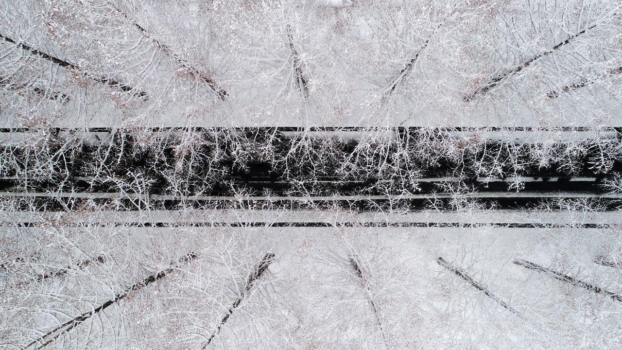 Сверху, © Такахиро Тессоу / Takahiro Bessho, 2 место в категории «Воздушная», Фотоконкурс Nature Photographer of the Year Contest