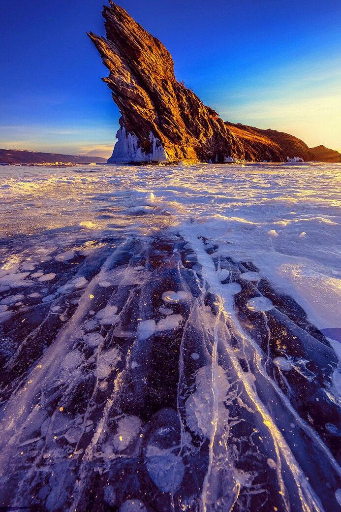 Зима на Байкале. Сибирь, Россия, © Лейли Хасан, Лахад Дату, Малайзия, Высокая оценка в категории «Пейзаж», Фотоконкурс «Лучшая природная фотография Азии»