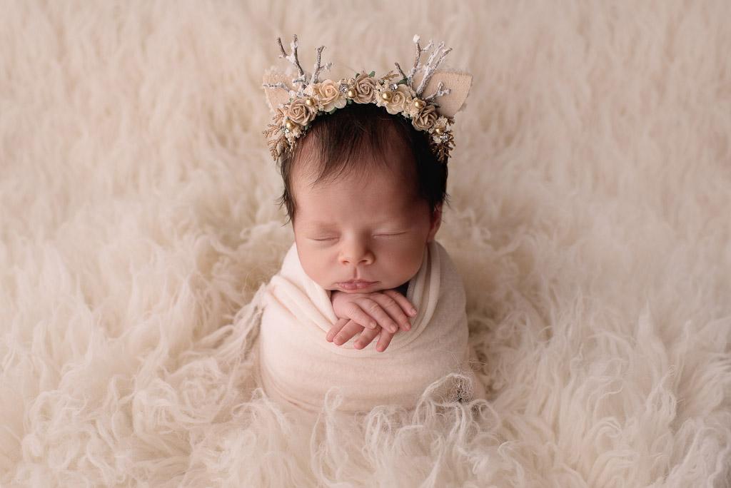 Зимняя лань, © Тина Крафтс, США, Фотоконкурс новорожденных