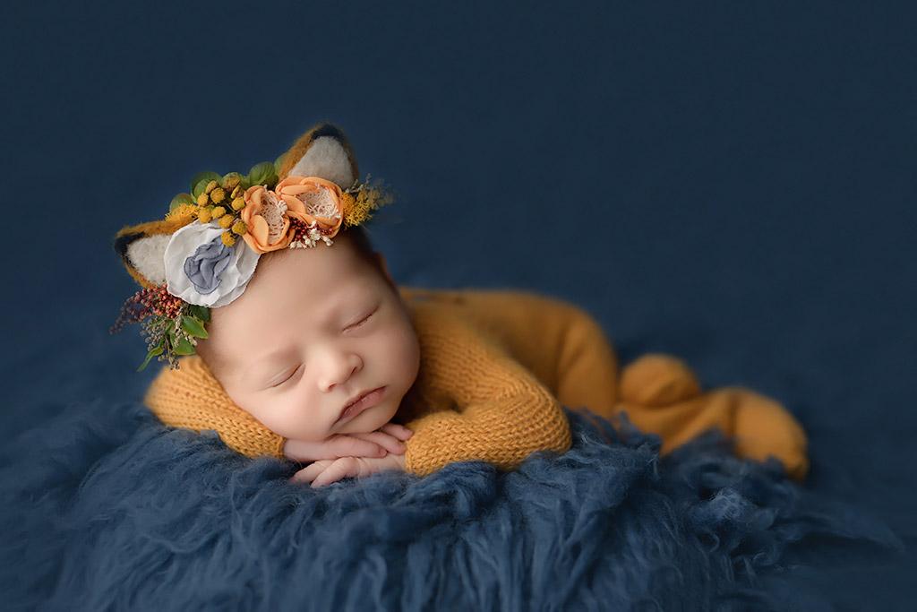 Лиса, © Анастасия Фольман, Германия, Фотоконкурс новорожденных