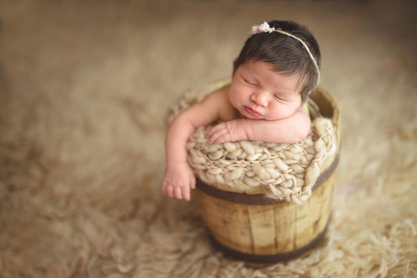 Сладкая Лия, © Андреа Великан, Румыния, Фотоконкурс новорожденных