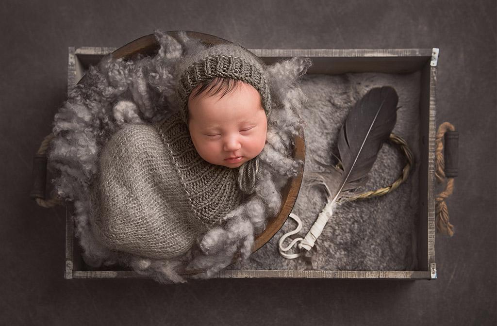Священный багаж, © Кристалл Меркреди, Канада, Фотоконкурс новорожденных