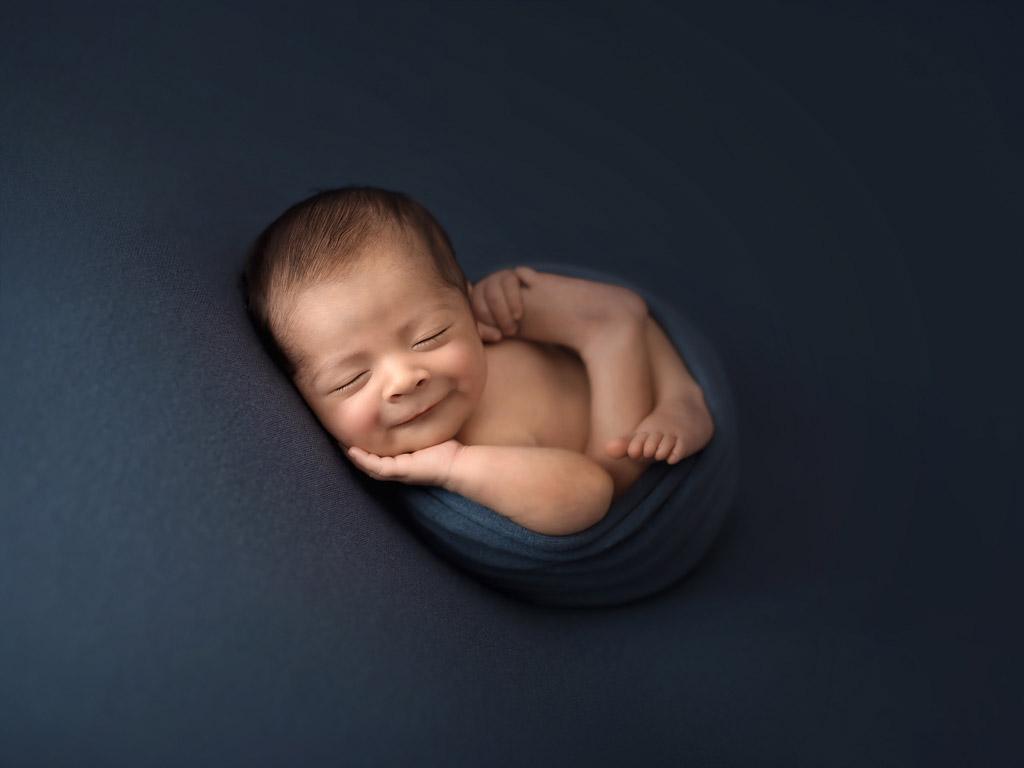 Улыбка, © Дэвид Сильва, Португалия, Фотоконкурс новорожденных