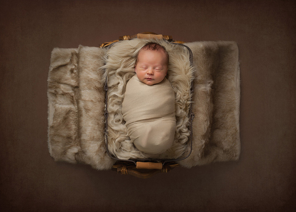 Уютно на коврике, © Эми Уэст, США, Фотоконкурс новорожденных