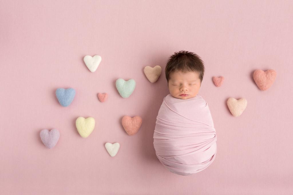 Сердца, полные любви, © Линн Харпер, Великобритания, Фотоконкурс новорожденных