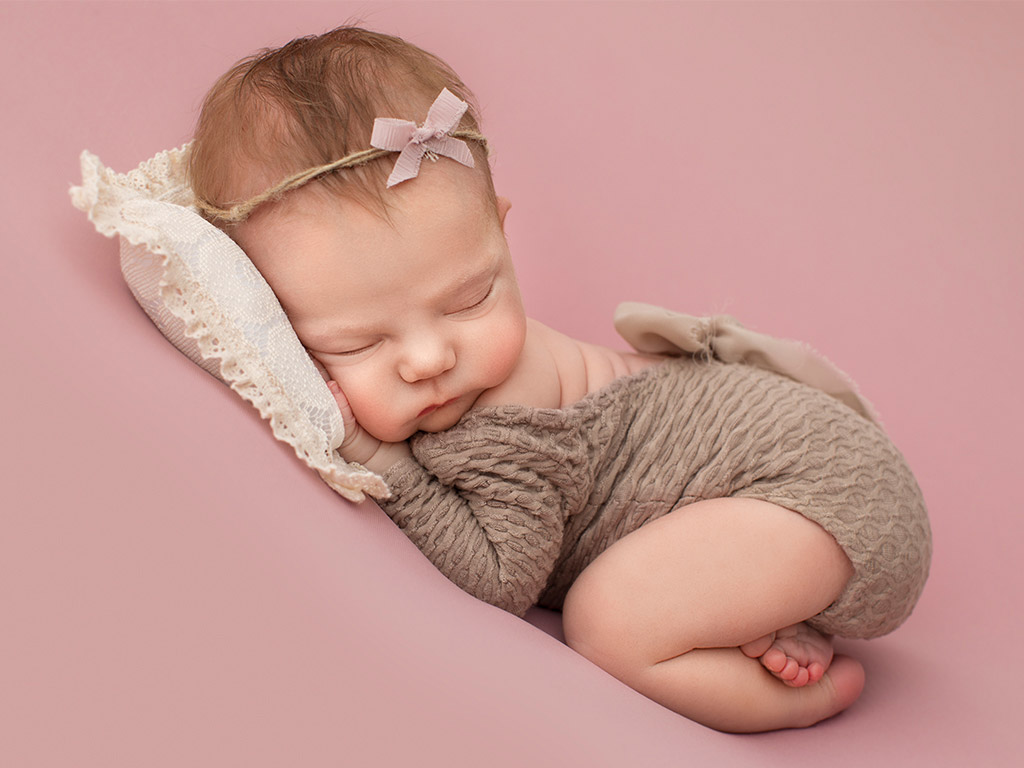 Розовые мечты, © Полина Куклина, США, Фотоконкурс новорожденных