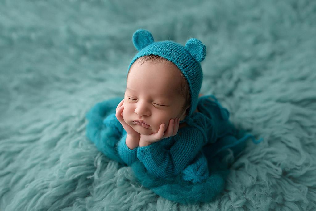 Мишка, © Анастасия Фольман, Германия, Фотоконкурс новорожденных