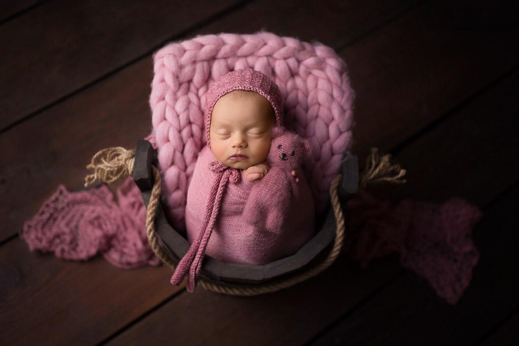 Мой друг — мишка, © Дорота Скавинска, Польша, Фотоконкурс новорожденных