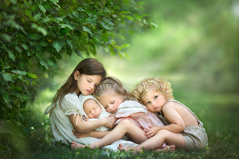 Тогда было четыре, © Кассандра Джонс, Канада, Фотоконкурс новорожденных