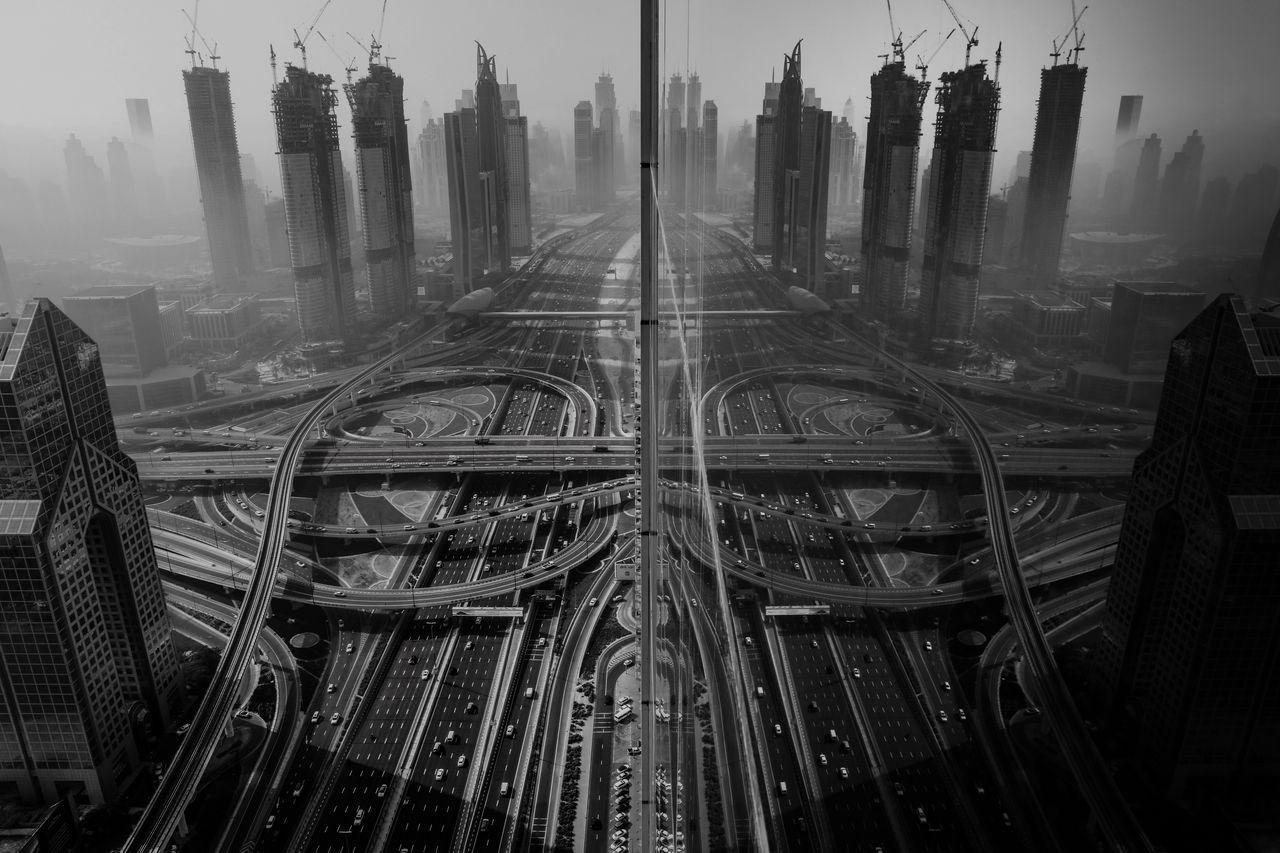 Отражение, © Гаанеш Прасад, Третье место в категории «Города», Конкурс «Тревел-фотограф года» от National Geographic