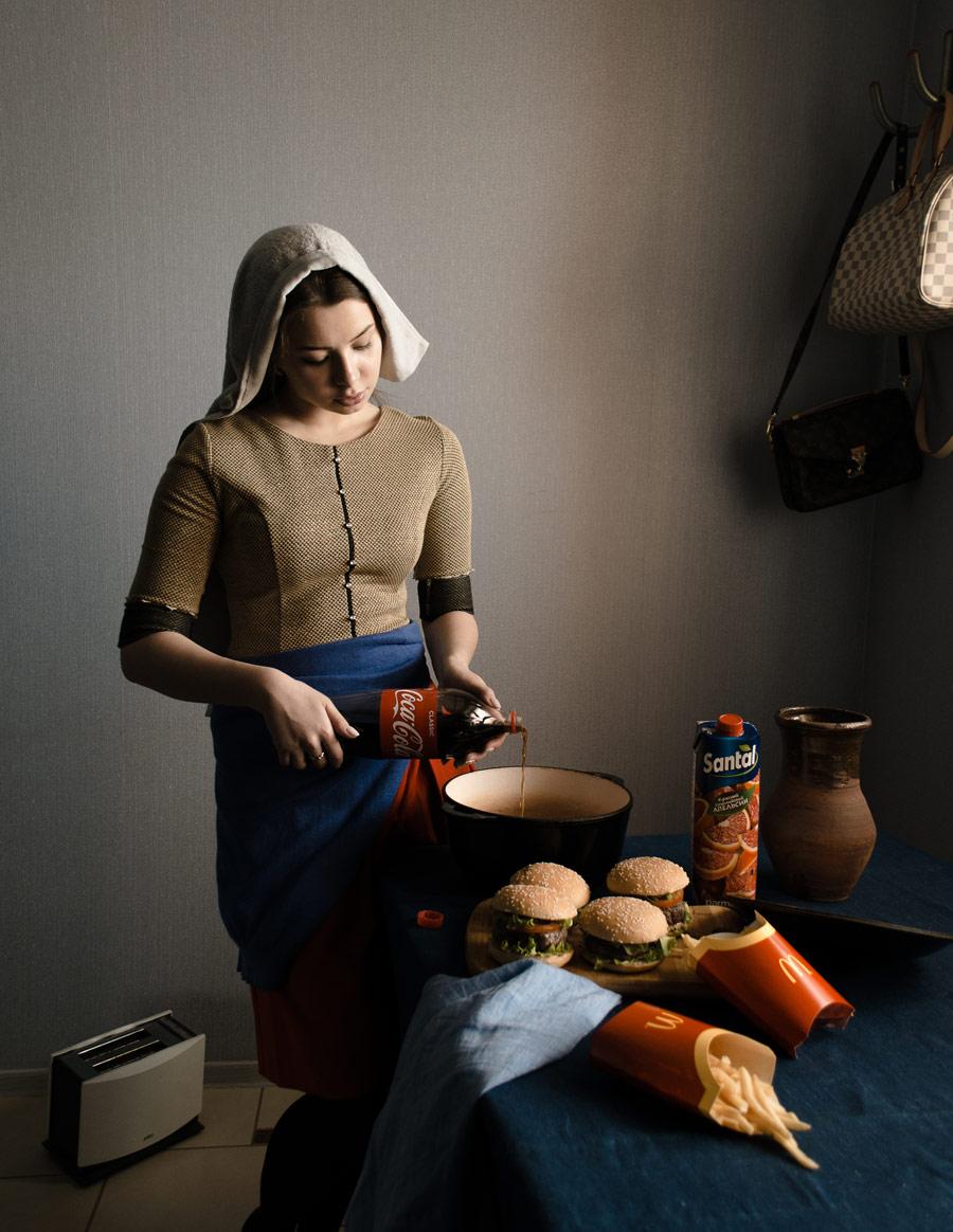 Кока-кольщица, © Денис Туманов, Портрет, 3 место - Профессионал, Фотоконкурс Nikon «Я в сердце изображения»
