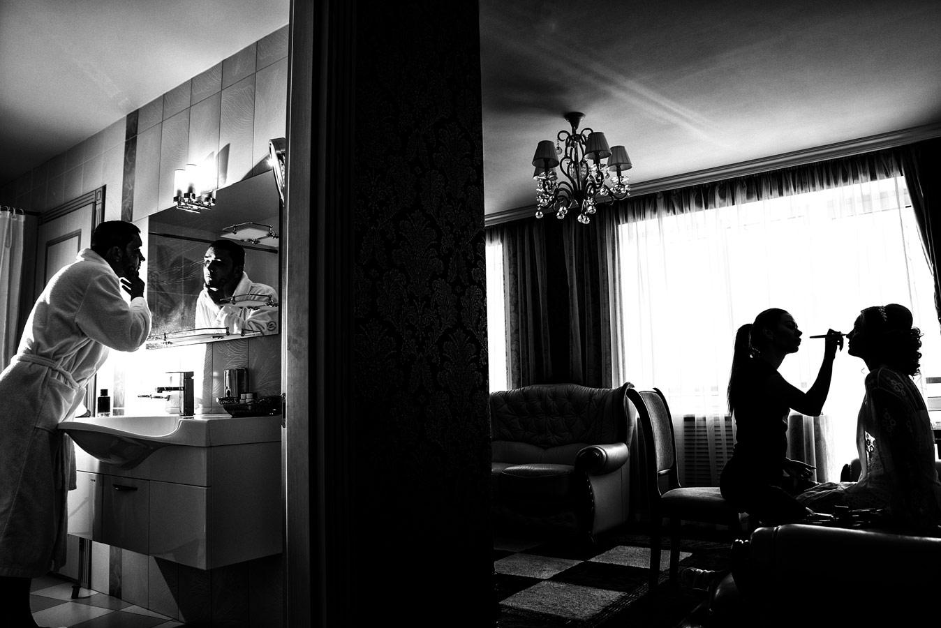 Сборы, © Александр Абрамян, Свадьба, 3 место - Профессионал, Фотоконкурс Nikon «Я в сердце изображения»