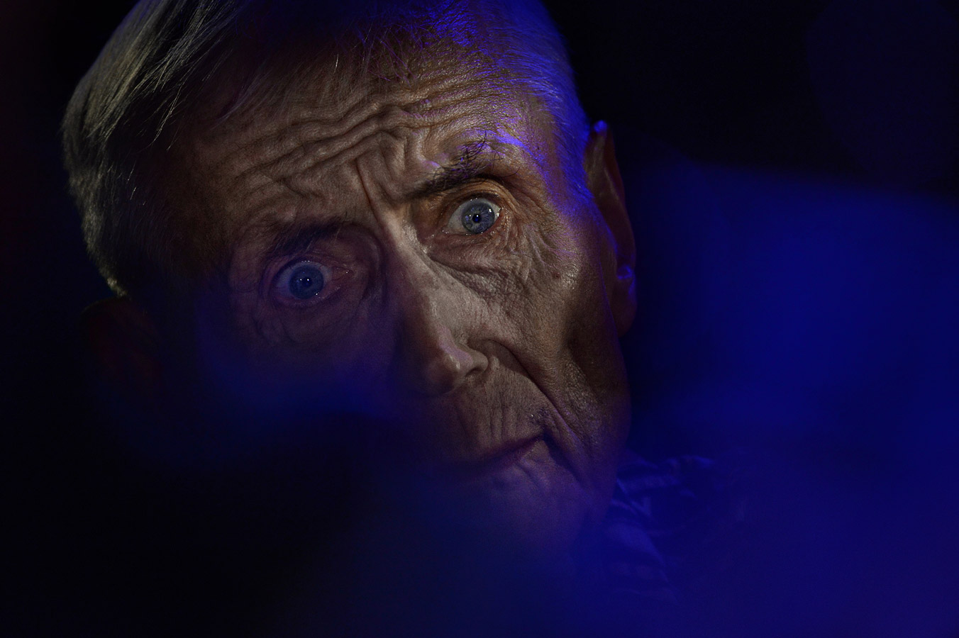 Поэт Евгений Евтушенко, © Владимир Вяткин, Портрет, 1 место - Профессионал, Фотоконкурс Nikon «Я в сердце изображения»