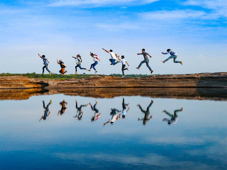 Отражение прыжка, © Noom_Prasert-001, 2 место в категории «Наедине с природой», Фотоконкурс Olympus Global Open