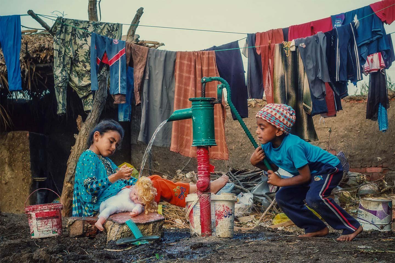 Детские игры, © Ахмад Халед, 3 место в категории «Наедине с природой», Фотоконкурс Olympus Global Open