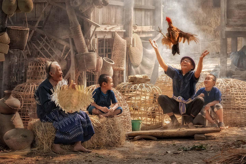 Счастливая семья, © sharkmaster, 2 место в категории «Сила жизни», Фотоконкурс Olympus Global Open