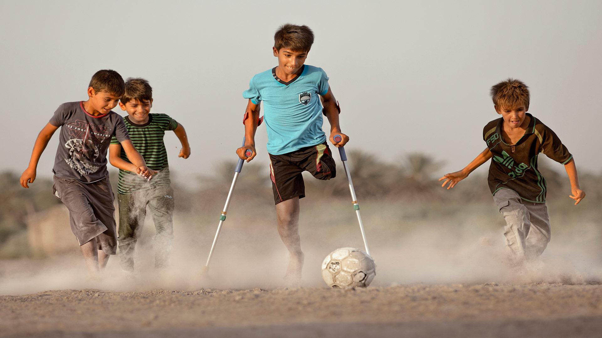 Это жизнь, © Тайсир Махди, Ирак, Золотая медаль FIAP и CEF, Фотоконкурс «Мир для всех: преодоление инвалидности» — ONCE