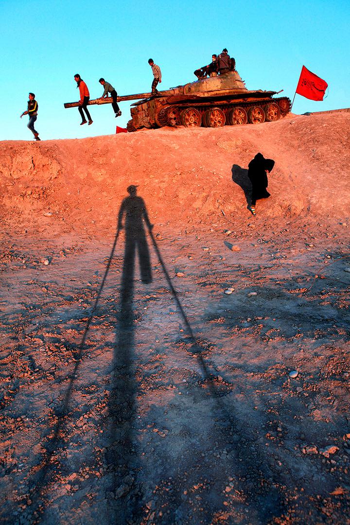 Место, где я потерял свою ногу, © Давоуд Амери, Фотоконкурс «Мир для всех: преодоление инвалидности» — ONCE