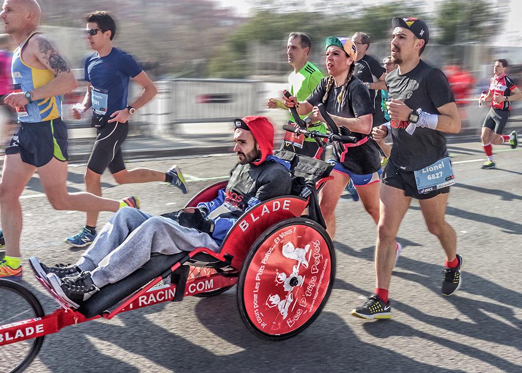 Мечта о марафоне, © Карме Олле Кодерх, Испания, Бронзовая медаль CEF, Фотоконкурс «Мир для всех: преодоление инвалидности» — ONCE