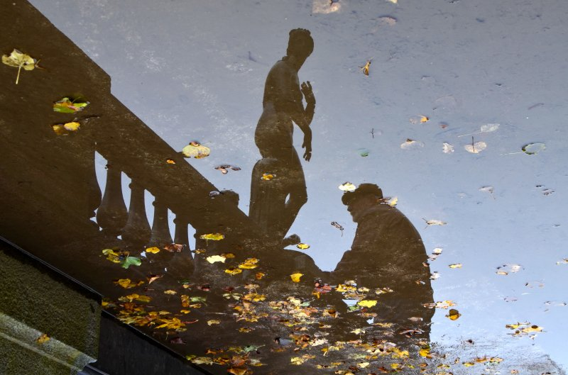 Встреча в зазеркалье, © Вера Платонова, Санкт-Петербург, Фотоконкурс «Осень в городе»